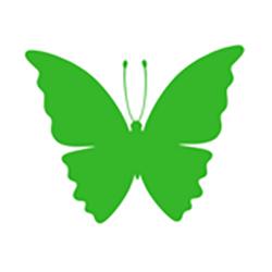 green-butterfly