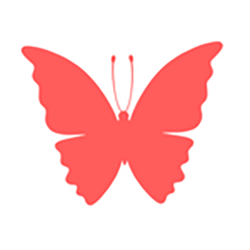 red-butterfly